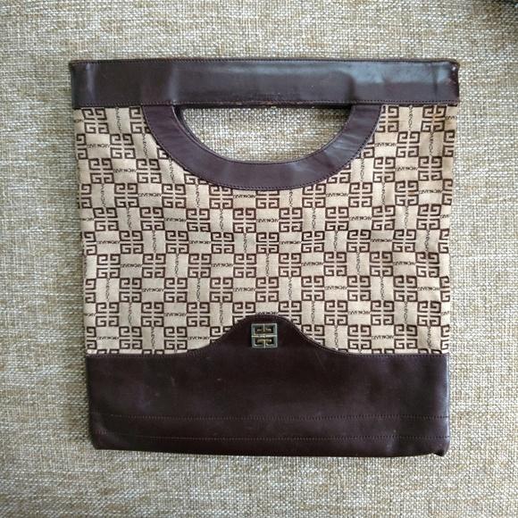 57fb9e68c8 Vintage Givenchy Small Tote Handbag